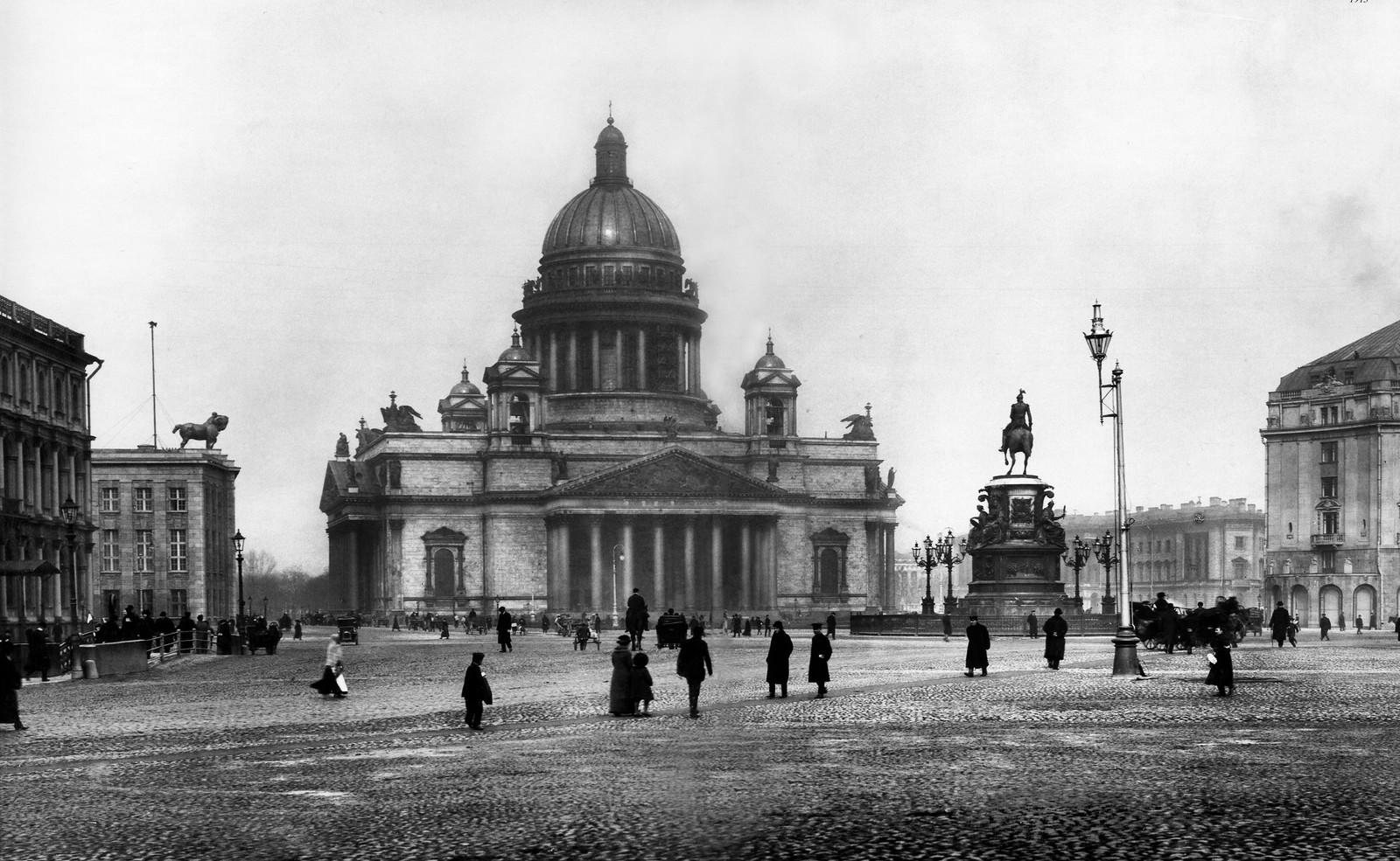 Исаакиевская площадь. 1913