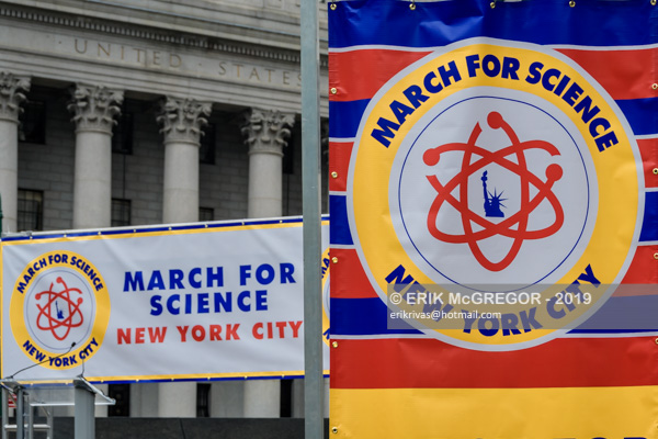 March for Science 2019 flagship event in New York City
