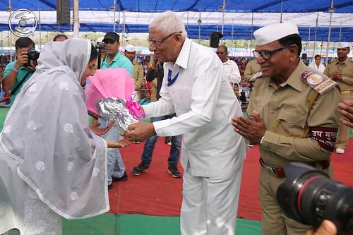 Welcome by Member Incharge Sewa Dal