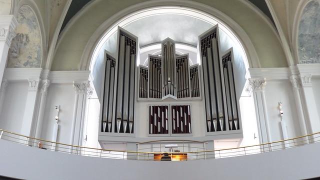 1970 Berlin-W. Beckerath-Orgel evangelische Kirche St. Thomas Mariannenplatz in 10997 Kreuzberg