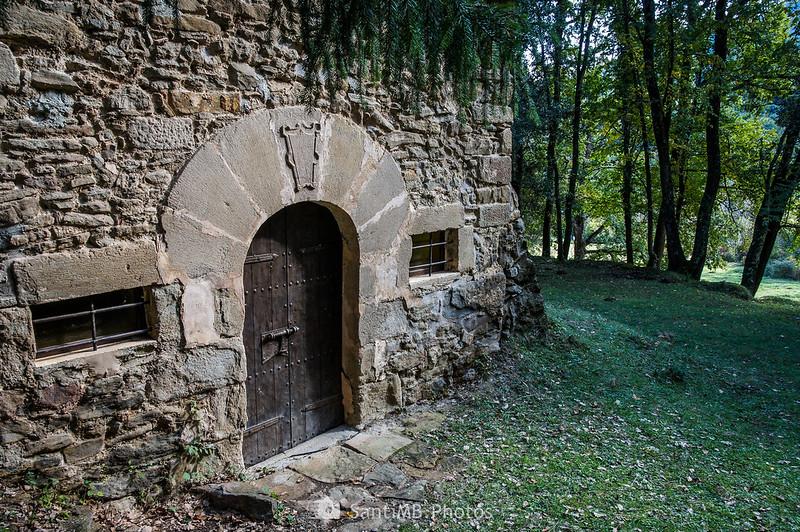 Puerta de la capilla de Sant Mateu de Joanetes