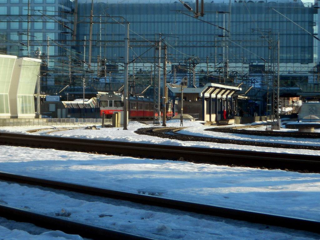 Хельсинки. Станция Пасила.