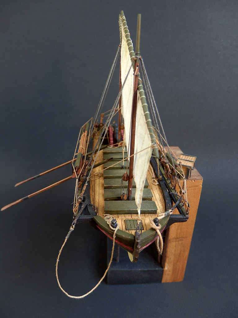 Canonnière 1801 - éch1/72 - Master Korabel  46865110125_80bfe4e00e_b