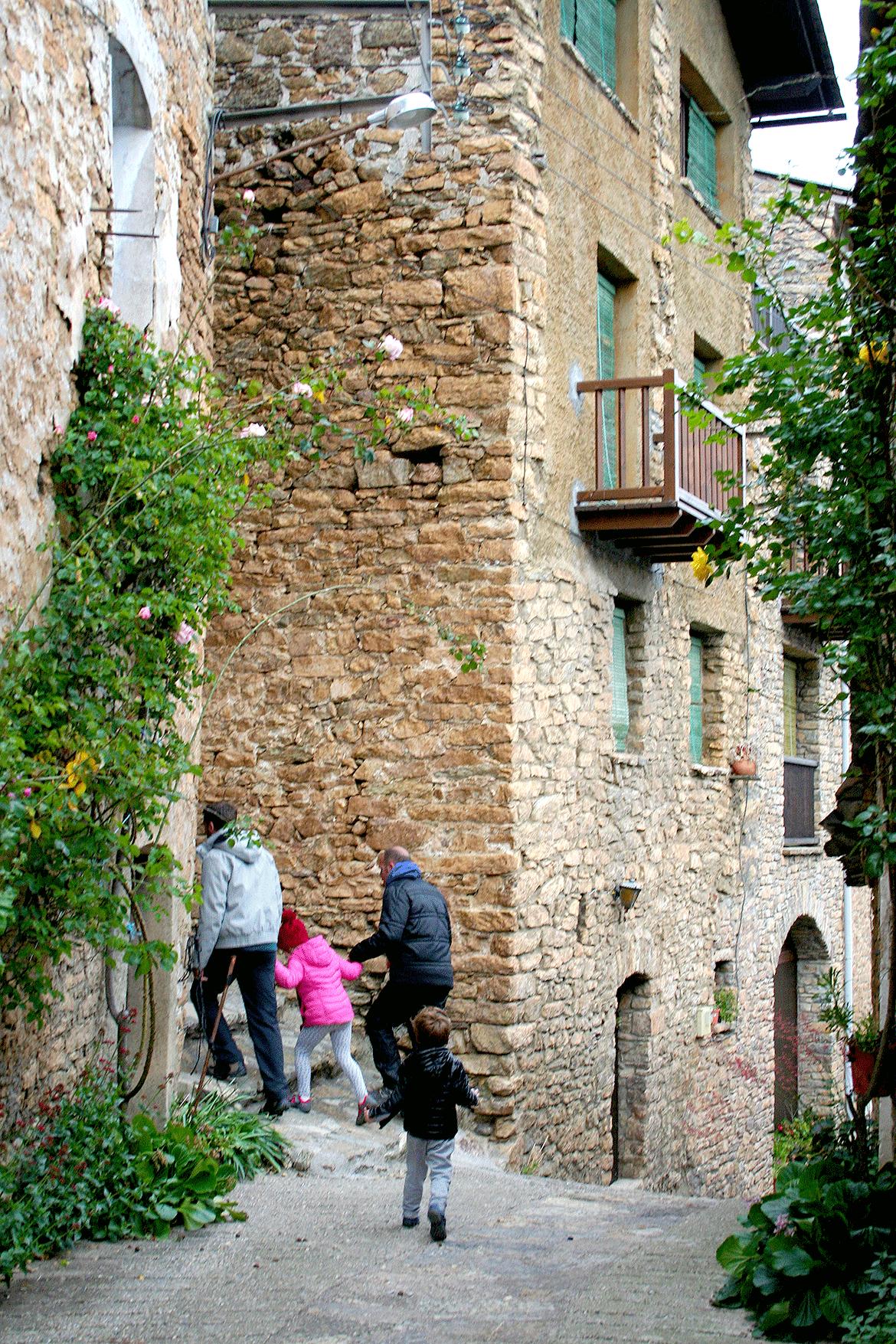 Montardit de Dalt en los Pirineos Catalanes