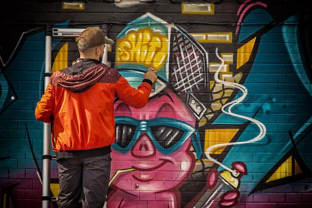Graffiti Festival, Namur Belgium