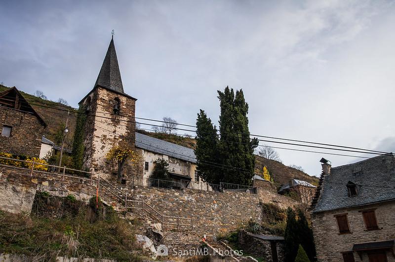 Iglesia de Sant Pèir ad Vincula en Bausen