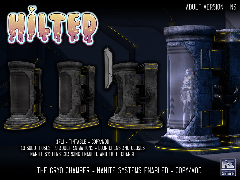 HILTED – The Cryo Chamber