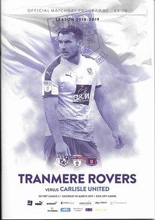 Tranmere Rovers V Carlisle United 30-3-19 | by cumbriangroundhopper