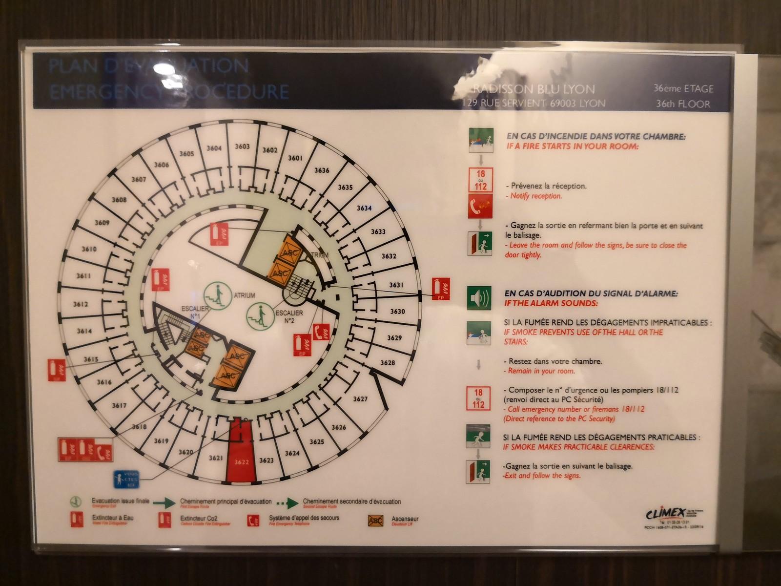 Hotel layout