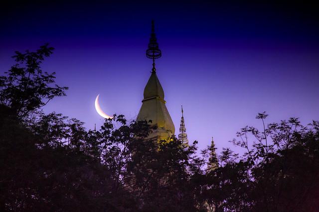 Dawn In Luang Prabang