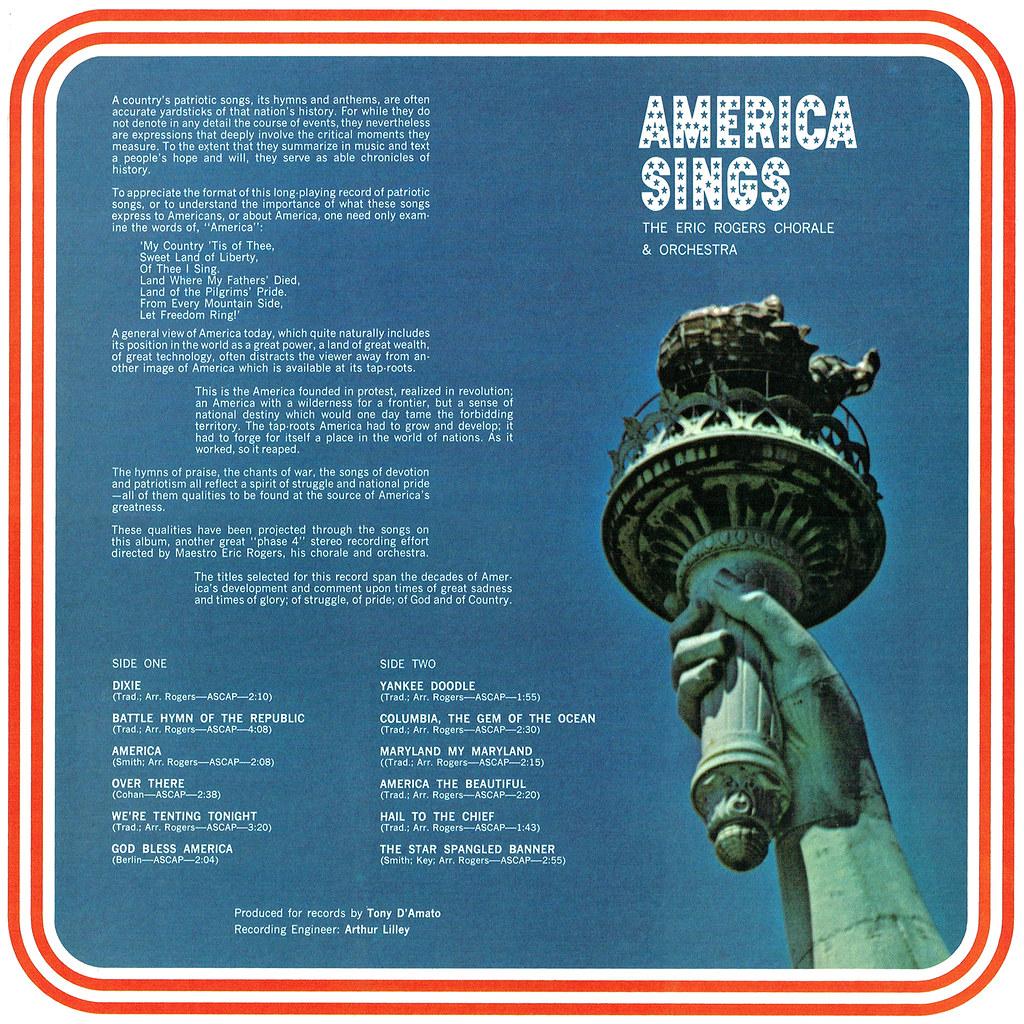 Eric Rogers - America Sings