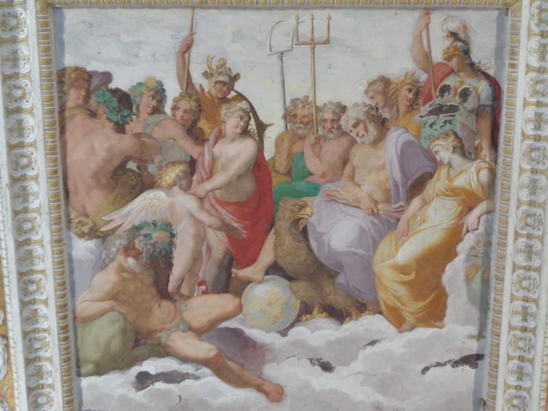 001-Геракл среди олимпийских богов