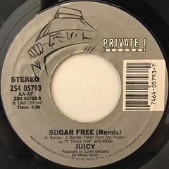 JUICY:SUGAR FREE(REMIX)(LABEL SIDE-A)