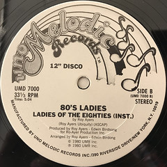 80'S LADIES:LADIES OF THE EIGHTIES(LABEL SIDE-B)