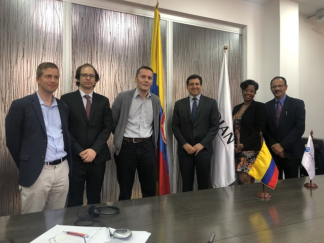 Technical assistance mission to Colombia