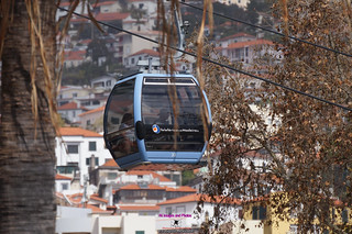 Cable car in Funchal Maderia