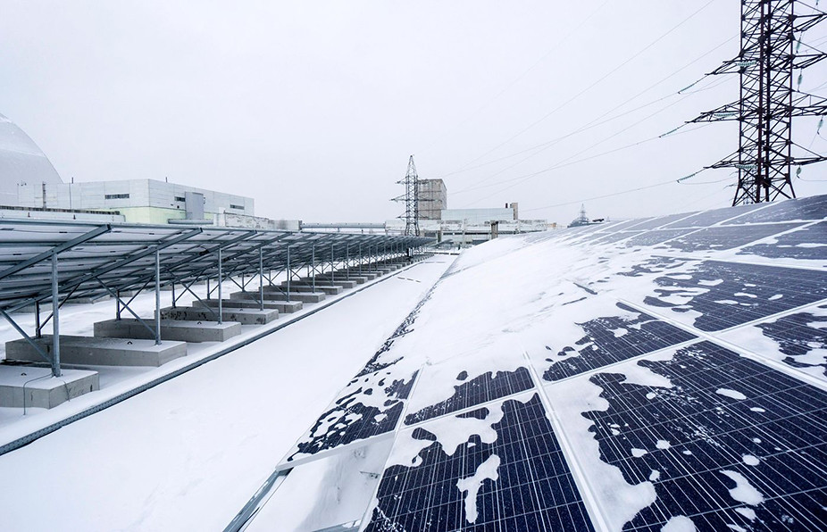 Chernobyl solar panel 926