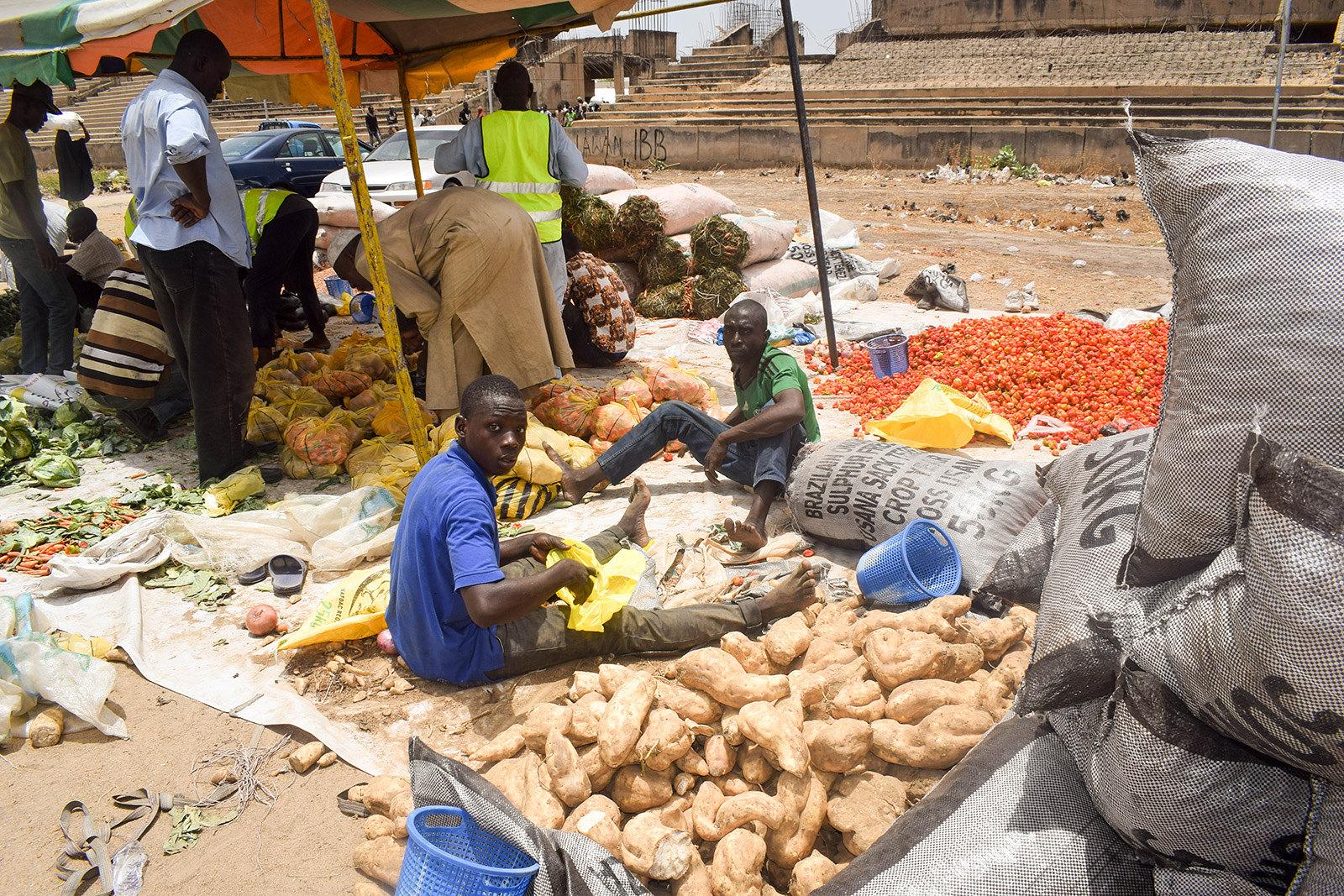Fresh food distribution in Nigeria