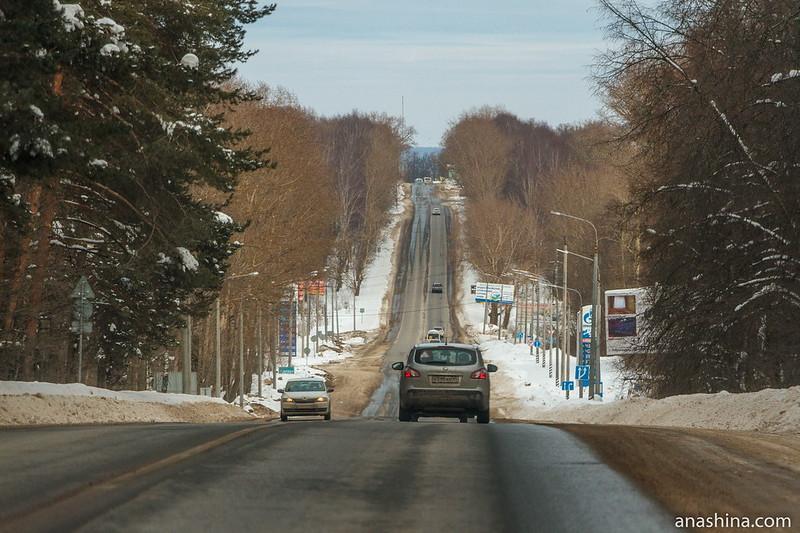 Дорога на Переславль-Залесский