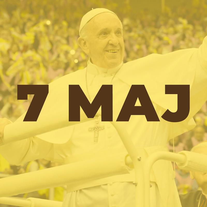 Апостолска посета на Папата Франциск на Република Северна Македонија [07.05.2019]