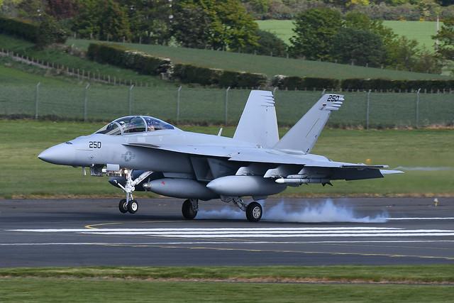 169654 Boeing FA18F Super Hornet EGPK 06-05-19