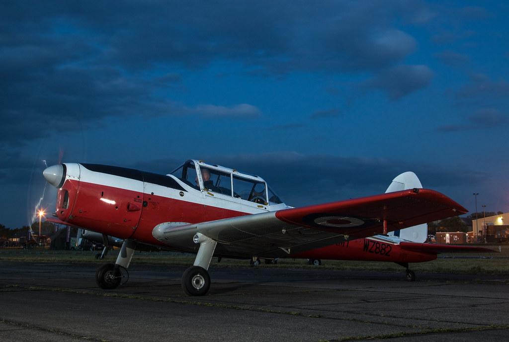 EGUD - de Havilland DHC-1 Chipmunk - G-BXGP / WZ882