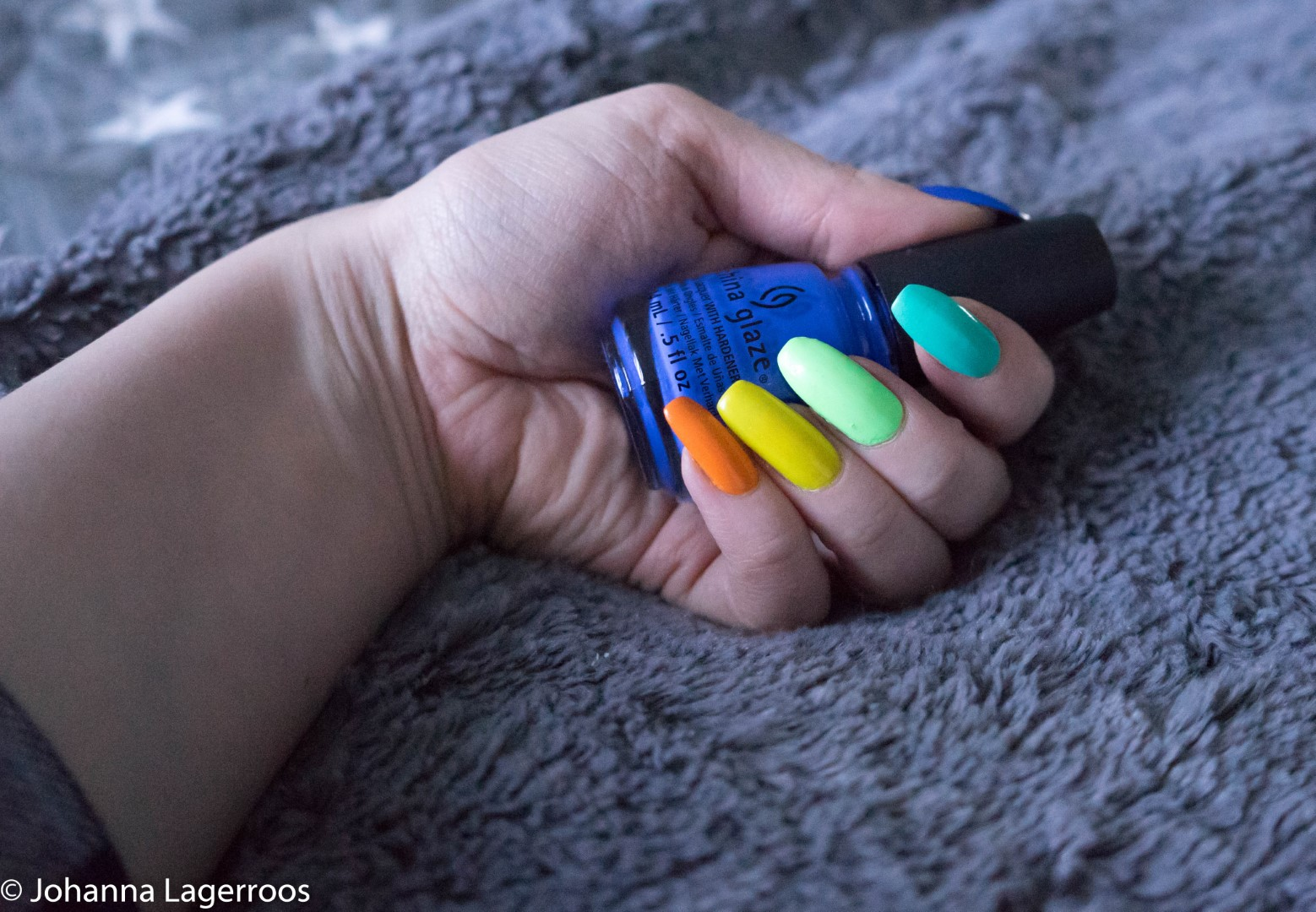 rainbow mani china glaze