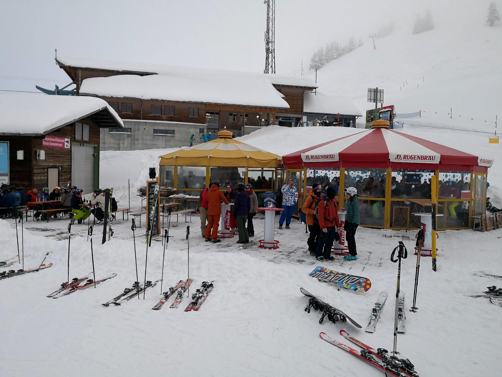 Aprés-ski at Käserstatt