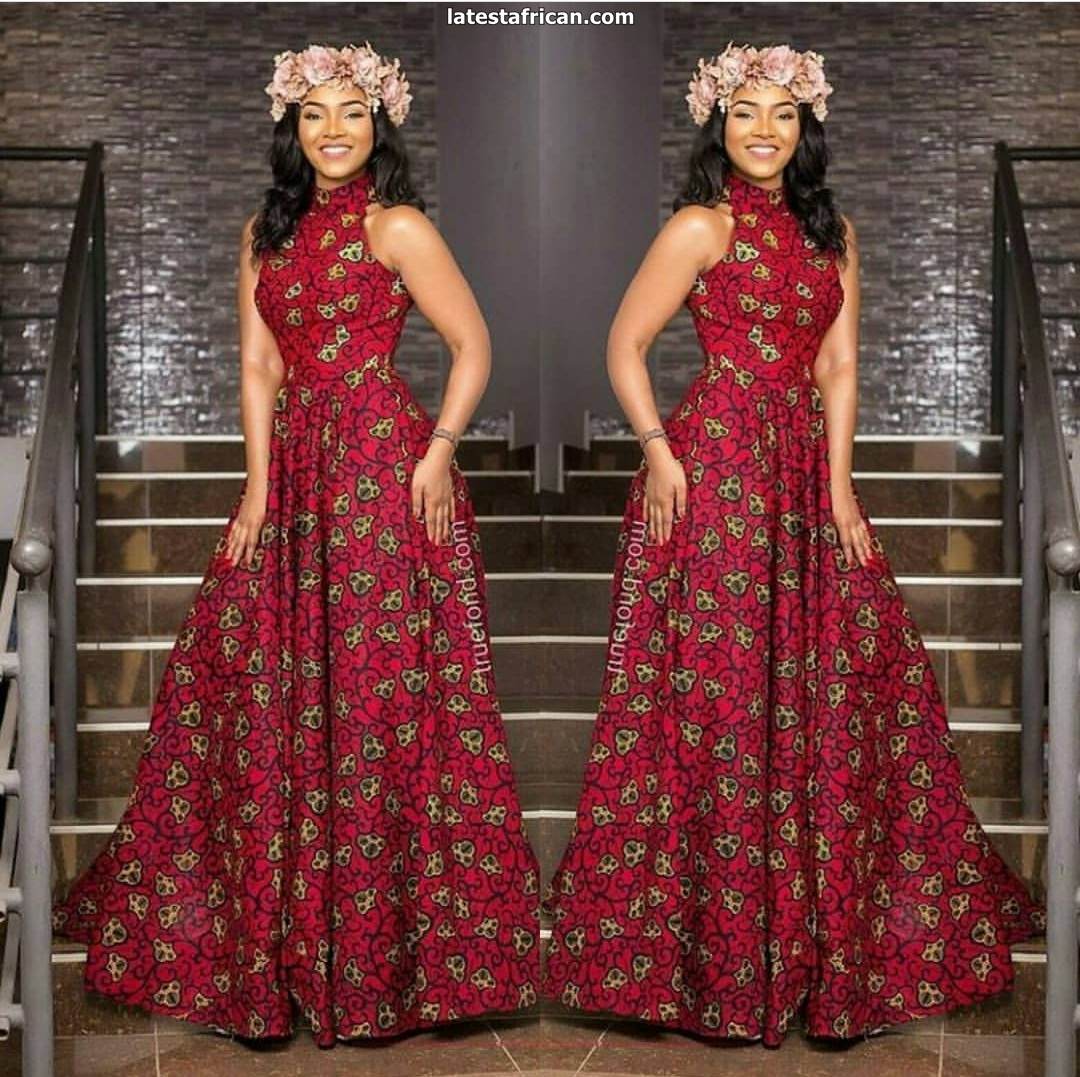 Latest African Long Gown Styles 2019 - Latest African