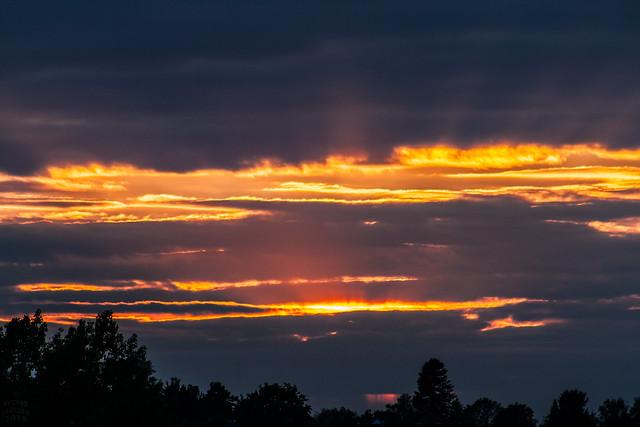 few sunbeams before sunset/ @ 300 mm / 2019-05-06