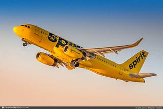 [LAX.2019] #Spirit.Airlines #NK #Airbus #A320 #N620NK #awp