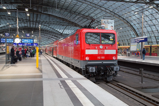 DB 112 150 Berlin Hauptbahnhof