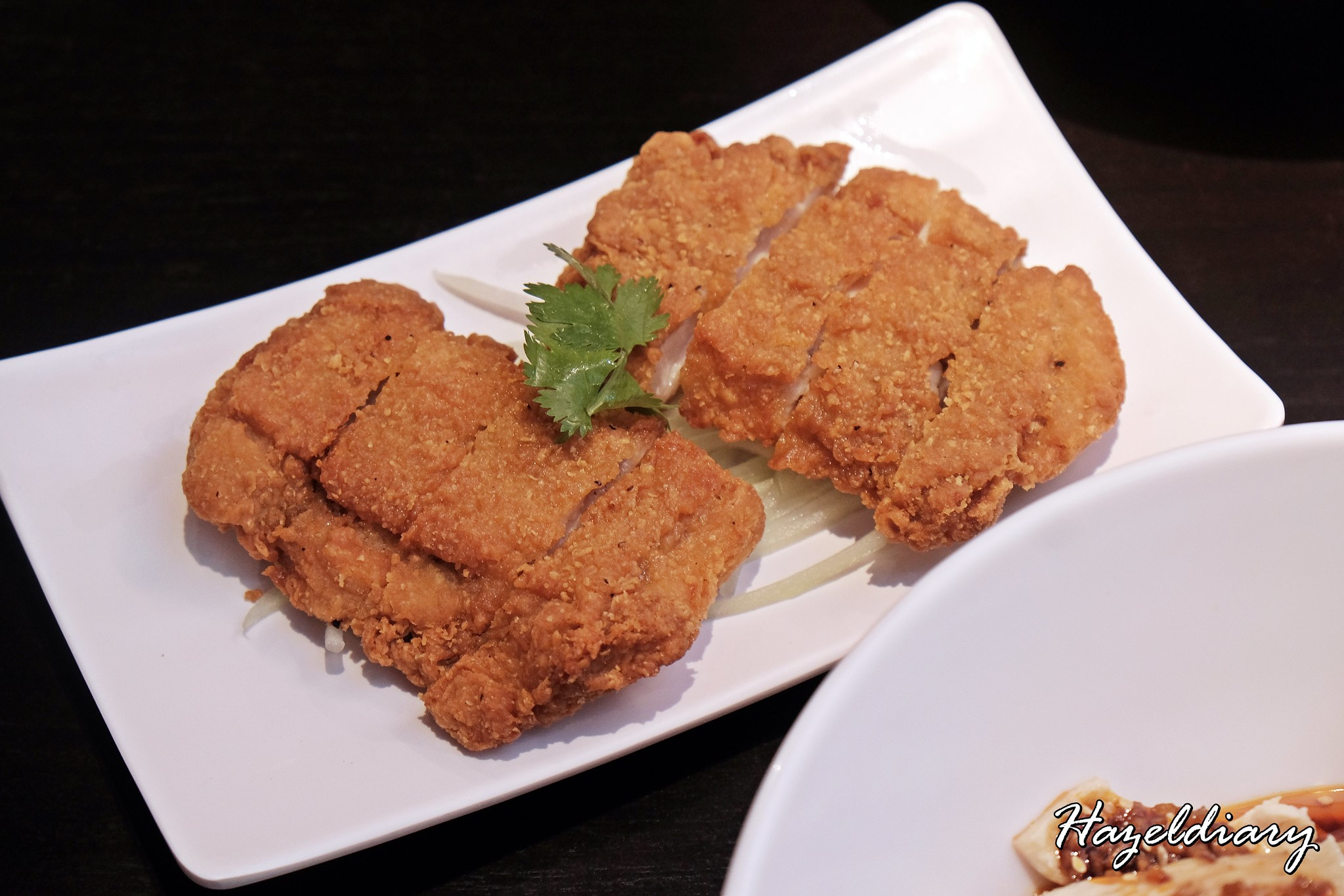 Ju Hao Taiwanese noodles Platform M-Chicken cutlet