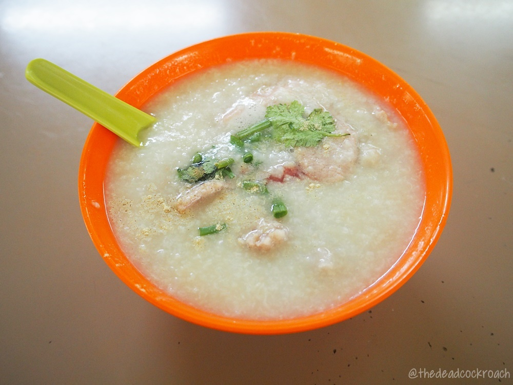 commonwealth crescent market & food centre, food, food review, hong kee porridge, pork porridge, review, singapore, 鴻記粥,