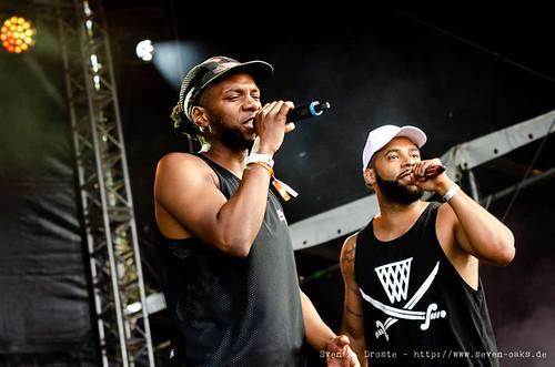 Musa & Megaloh - BSMG @ Watt en Schlick Fest 2018 / Dangast / Germany (SAD_20180805_NKN9992)