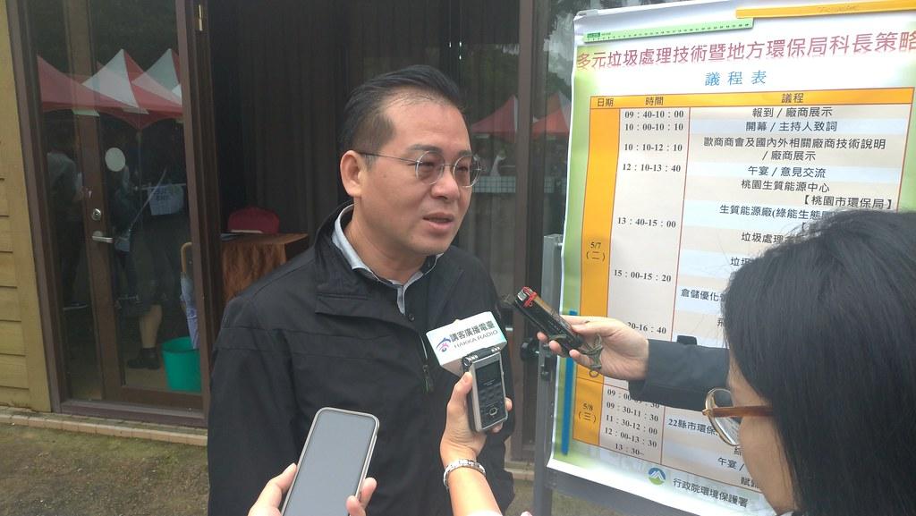 環境督察總隊隊長李建育提到,未來垃圾處理清運將朝公共服務多元化發展。孫文臨攝
