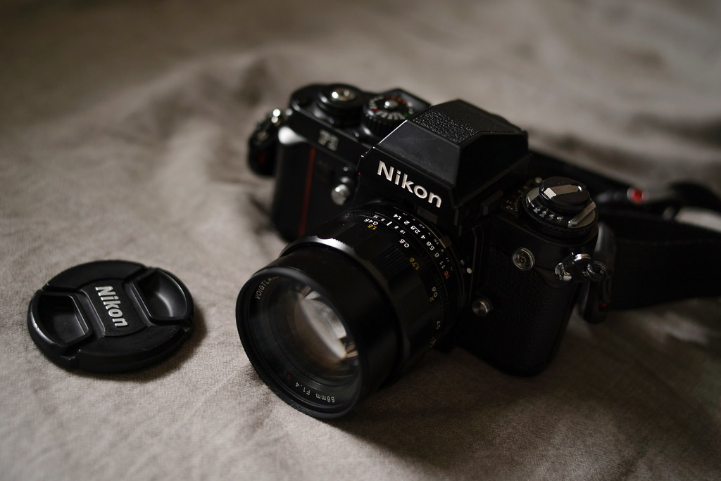 Nikon F3 with Nokton 58_1.4