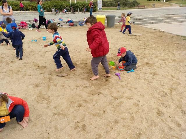 Sortida a la platja Infantil