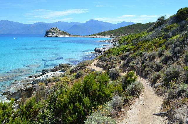 Coastal path, Saint Florent, Corsica