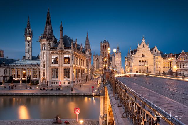 Ghent Blue Hour II