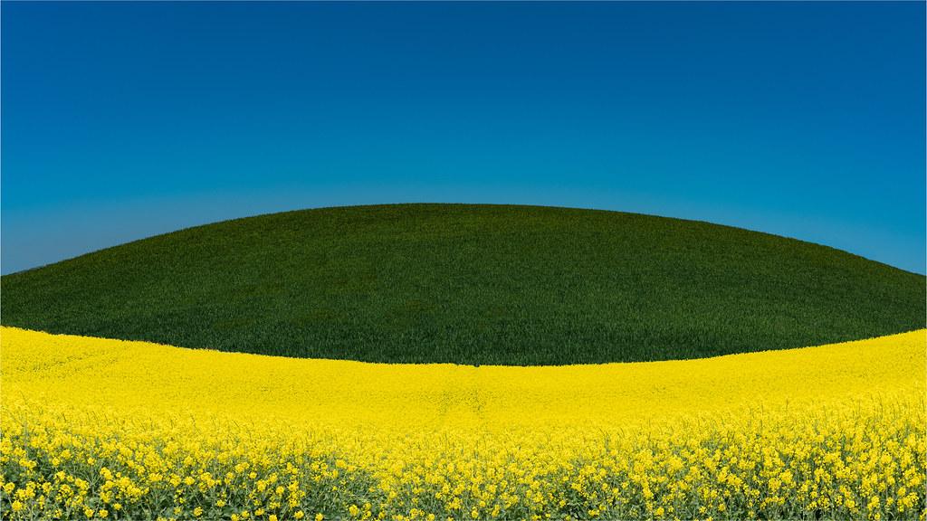 Yellow, Green, Blue