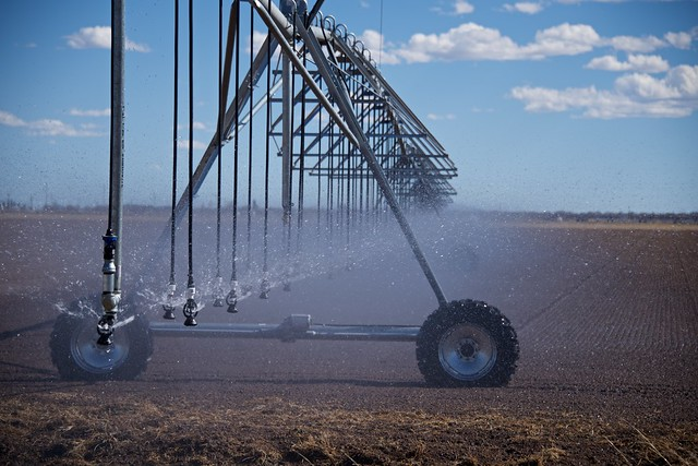 Irrigating for Agriculture in the High Desert