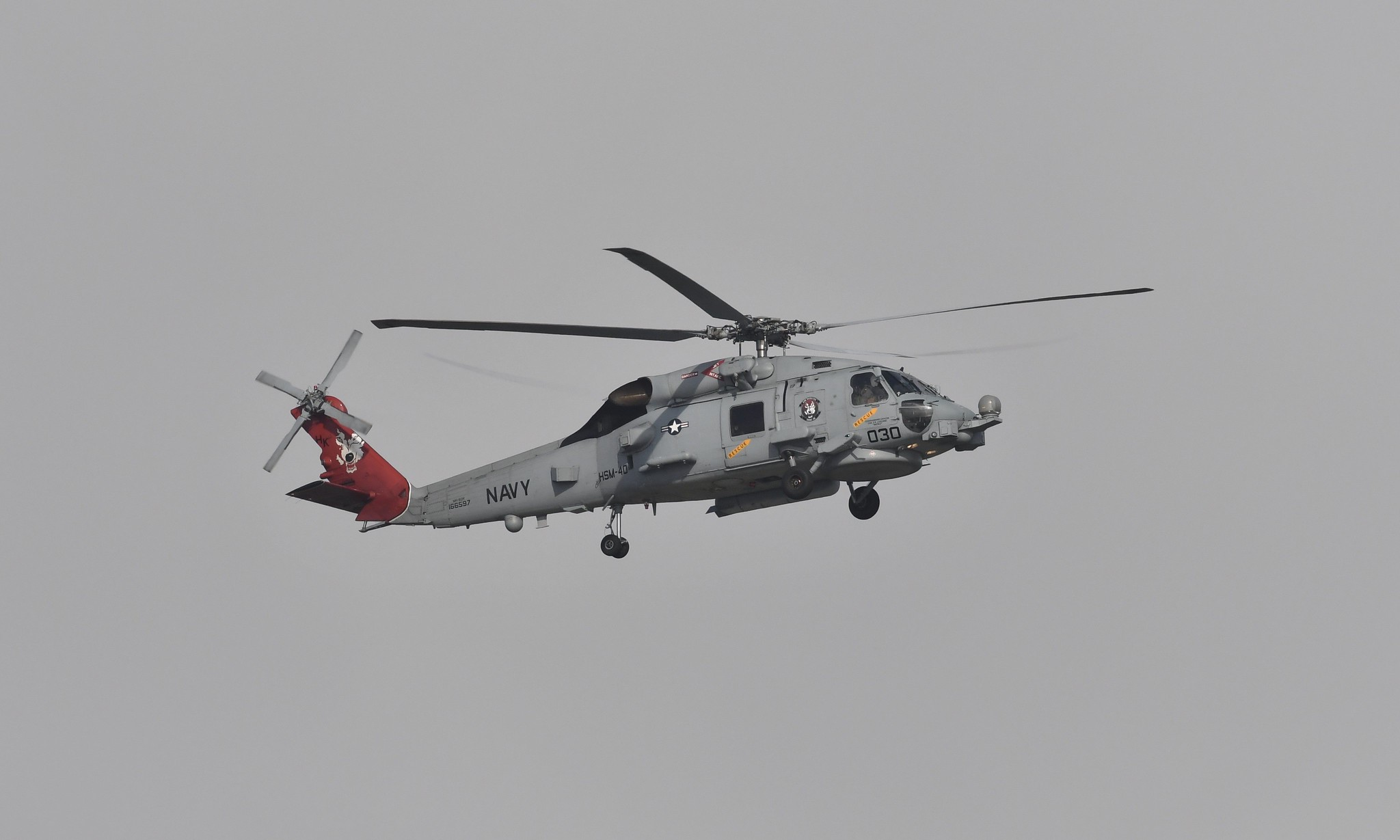NAS Mayport - (Red Tail) USN Helicopter