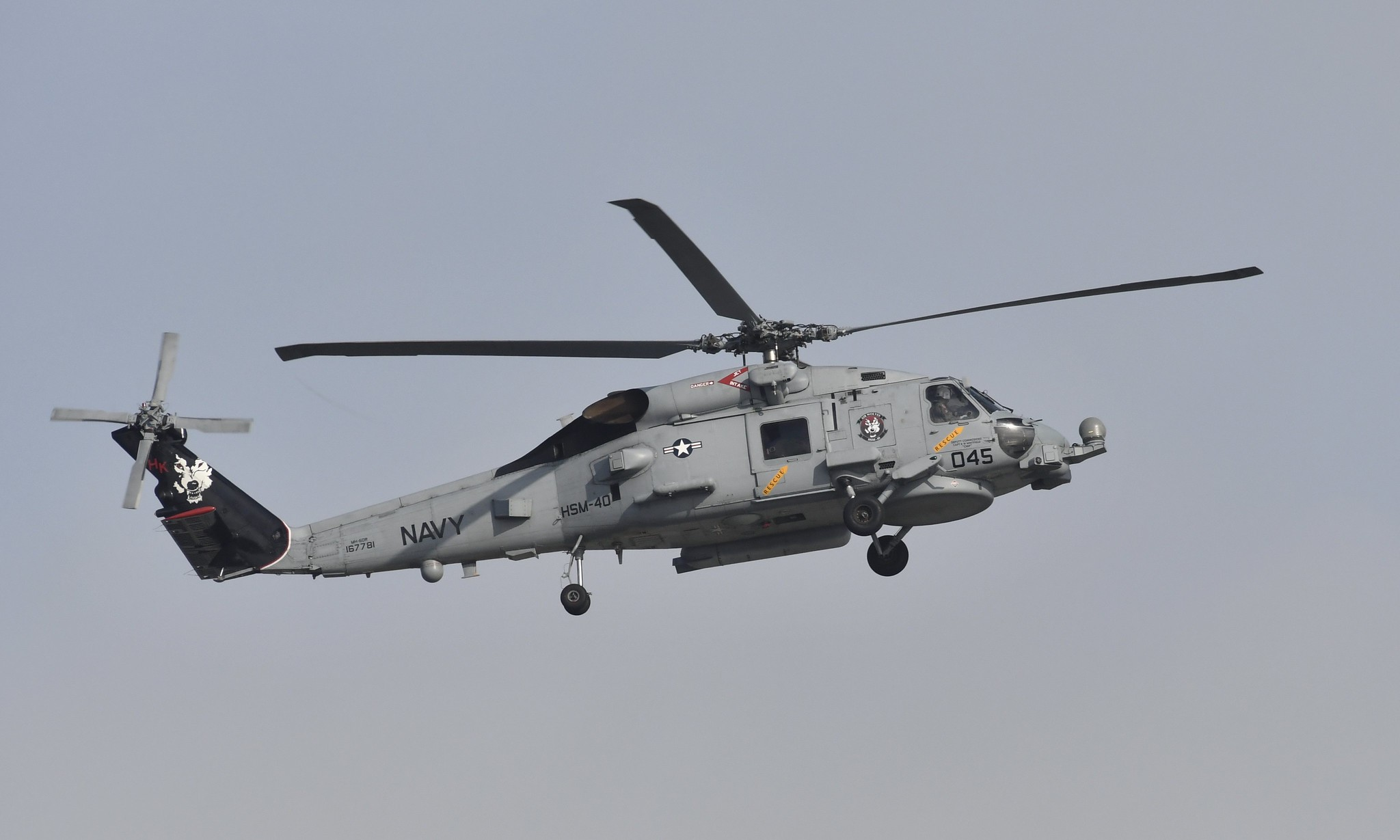 NAS Mayport - (Black Tail) USN Helicopter