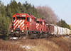 When CP Was Boring WIth Nothing But SD40-2's. by David Brook; Thanks for 1 Million + Views