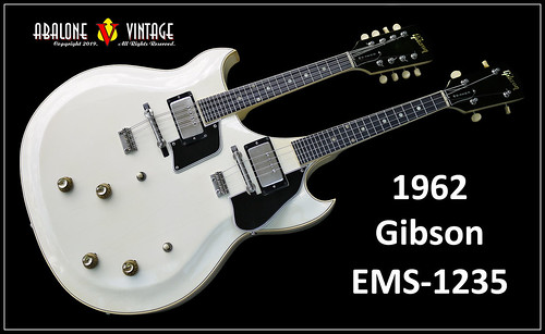 1962 Gibson EMS-1235 Double Mandolin guitar. Custom one off!