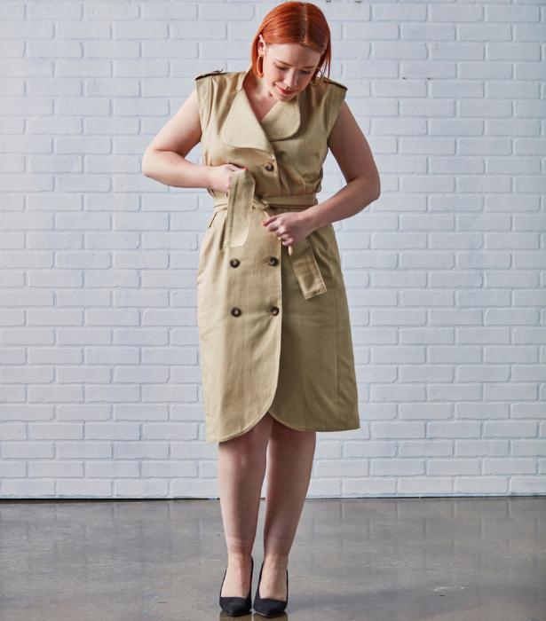 Meg Trench Dress