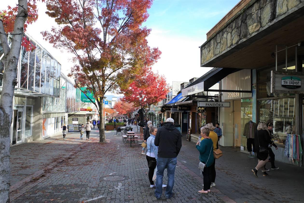 ニュージーランド クイーンズタウン市街地