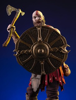 MONDO《戰神》克雷多斯 Kratos 1/6 比例人偶作品 普通版 / MONDO限定版