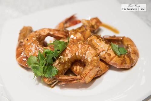 Deep fried prawns in soy sauce | by thewanderingeater